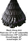 BRIDAL PETTICOAT CRINOLINE HOOP SKIRT SLIP WEDDING GOWN HALLOWEEN COSTUME DRESS