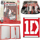 One Direction Notebook Girl's Kiss Lock Purse Licensed 1D Fans Singer Gift Diary
