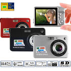 "18 MP 2.7"" Digital Camera 8x digital Anti-shake HD 720P Camcorder Smile Capture"