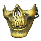 Scary Skull Airsoft Paintball Half Face Protective Mask For Halloween CS Games
