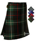 BOYS' DELUXE KILT - CHOICE OF GENUINE SCOTTISH TARTANS - SIZES TO FIT AGES 0-12!