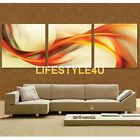 Canvas Print home decor wall art painting Picture Abstract 3PC Unframed