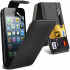 6 Colours Leather Flip Mobile Phone Case Cover For Apple iPhone 5
