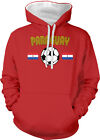 Paraguay South American National Soccer Team Futbol  2-tone Hoodie Pullover