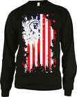 Statue of Liberty USA Flag Patriotic Americana Long Sleeve Thermal