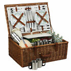 Picnic at Ascot Dorset Picnic Basket for 4 with Coffee Service