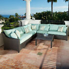 Deco 6 Piece Sectional and Table