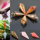 1Pc Natural Crystal Quartz Gemstone Healing Dowsing Energy Reiki Chakra Pendulum