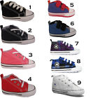 New Girls Boys All Star Converse Infant Baby Crib Toddlers Lace Trainers Shoes