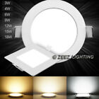 recessed light fixtures - 3/4W 6W 9W 12W 15W 18W 20W 25W Dimmable LED Recessed Ceiling Panel Light Fixture