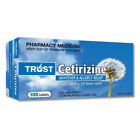 SAME AS ZYRTEC - CETIRIZINE 10MG *****CHOOSE QUANTITY****AUSTRALIAN MADE