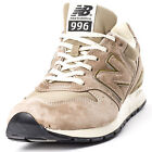 New Balance MRL996HF Mens Suede & Mesh Beige Trainers New Shoes