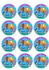 Bubble Guppies Personalized Edible Print Cake Toppers Frosting Sheets 5 Sizes