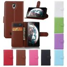 For Lenovo A2010 Mobile Phone Flip Leather Wallet Card Slot Case Cover Skin New
