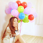 100pcs 12 inch Colorful Pearl Latex Balloon Celebration Party Wedding Birthday