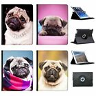 China Asian Love Pug Dogs Folio Cover Leather Case For Apple iPad Tablet