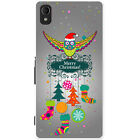 Merry Christmas Christmas Decorations Hard Case For Sony Xperia M4 Aqua
