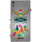 Merry Christmas Christmas Decorations Hard Case For Sony Xperia T3