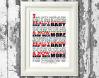 Massive Attack - Unfinished Sympathy Song Lyrics Poster Typography Print Only