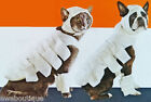 New MUMMY Dog Cat 4pc Pet Costume Head Body & Feet pcs Halloween Dressup NWT