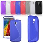 For Motorola Moto G 2 (2nd Gen)  XT1068 XT1063 Soft TPU Silicon Clear Case Cover