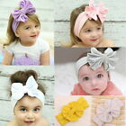 1 X Girls Baby Cotton Bow Hairband Stretch Turban Knot Head Wrap for Kids K70