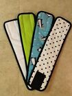 4pk Male Dog Diaper TEAL PENGUIN, LIME, DOTS, WHITE Belly Band XS-XL CUTE! NEW!