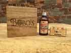 MENS GIFT SET BOBOS BEARD OIL AND MOUSTACHE WAX PRESENT MALE GROOMING BEARD CARE