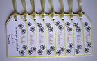 Handmade DAISY wedding : GROOM SURVIVAL KIT TAG SET, 60 colours, any qty