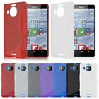 S-Line Slim Soft TPU Rubber Gel Skin Back Case Cover For Microsoft Lumia 950 XL