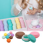 Cute Mini Jewelry Storage Boxes Macaron Jewelry Earring Candy Color Case LOT