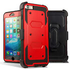 Hard Outer Box Case Cover w/ Clip Holster For iPhone 6s Plus 5.5 & 6 Plus 5.5