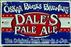 Metal Beer Signs. Oskar Blues Brewery North Carolina
