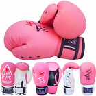 Junior Boxing Gloves / Children Sparring Punch Bag Gloves Girls /Ladies 4,6,8,OZ