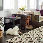 Dog Kennel End Table Wood Large Or Small Pet Crate Night Stand Puppy Cat House