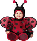 Costume Carnevale Coccinella Incharacter 0-4TCarnival Baby Costume Lady bug 0-4T
