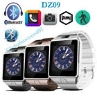 DZ09 Smart Bluetooth Watch With Camera SIM+Micro SD card For IOS/Android phone