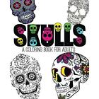 FREE 2 DAY SHIPPING: Skulls: An Adult Coloring Book (Paperback)