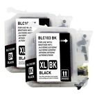 2-PACK XL-Series High Yield Black Ink Cartridges for Brother MFC-J6920DW Printer