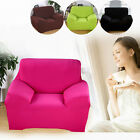 EASY FIT STRETCH ELASTIC ARM CHAIR SOFA SETTEE FABRIC SLIP OVER WASHABLE COVER