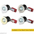 MR16 50W 12V Low Voltage 90 Minute Fire Rated Fixed Downlight Choose Colour