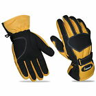 New Mens Textile Thermal Motorbike Motorcycle Gloves Waterproof Warm Reflective