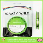 0.2mm (32 AWG) - Comp SS316L (Marine Grade Stainless Steel) Wire - 23.87 ohms/m