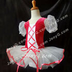 LB9 Toddler Girl Ballet Leotard Dancewear Dance Tutu Fuchsia 2 3 4 5 6 7 8 Years