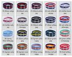 20mm Nylon Wrist Watch Band Strap Watch Stainless Steel Buckle 20color available