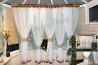 White Voile Net Curtain Ready Made 180x500cm Living Room New WAS 19.99 NOW 17.99