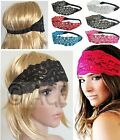 20s Great Gatsby Party Dance Crochet Hairband Head Piece Wedding LACE HEADBAND