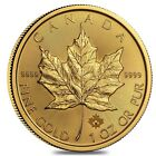2016 1 oz Canadian Gold Maple Leaf $50 .9999 Fine BU