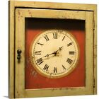 Premium Thick-Wrap Canvas Wall Art entitled Grandfather clock face