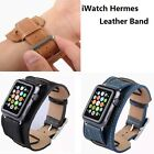Genuine Leather Watch Band Buckle Strap Bracelet for Apple Watch iwatch 38/42 MM